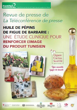 Présentation des résultats de l'étude clinique sur l'huile de pépins de figue de barbarie